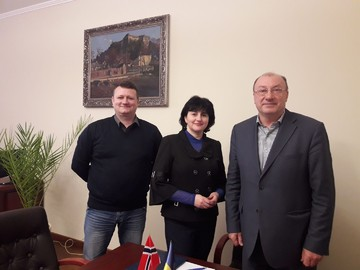 "We welcome Uzhhorod becoming a part of the cities where ""Ukraine-Norway"" project is realized!"