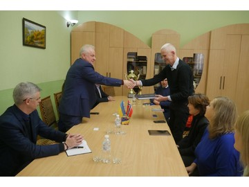 The visit of representatives of the Ministry of Foreign Affairs of Norway to Zaporizhia